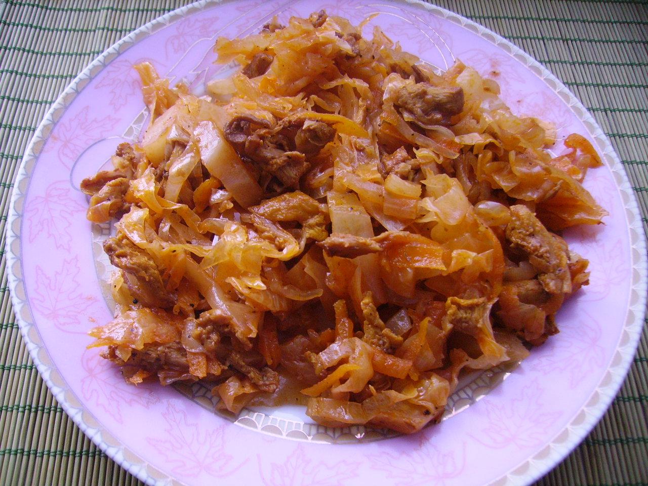 солянка с грибами рецепт на сковороде