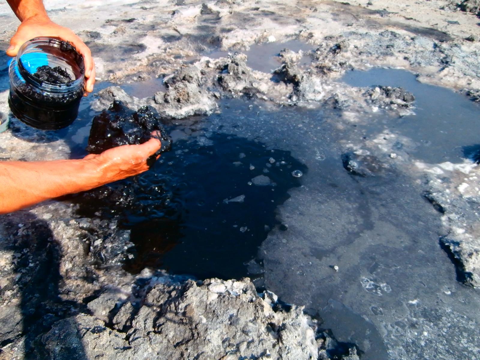 Целебная грязь озера Соленое