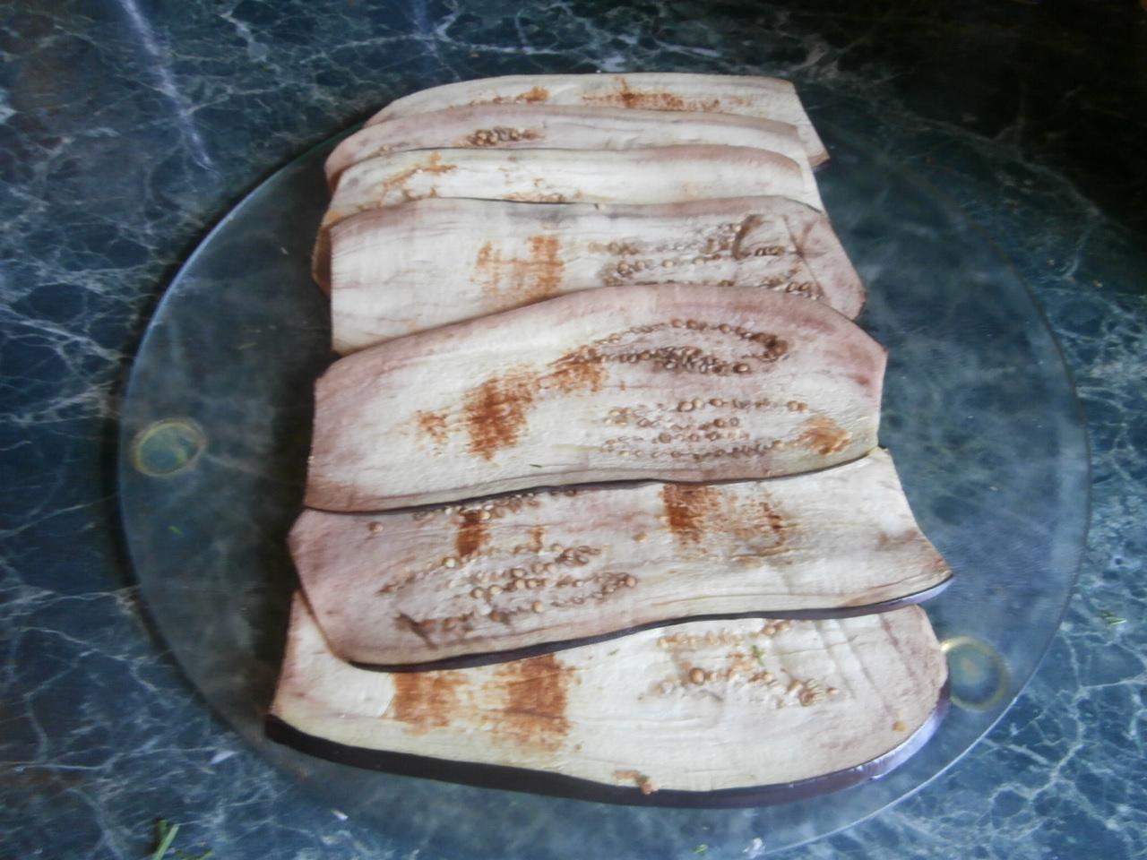 рецепт из баклажанов в духовке