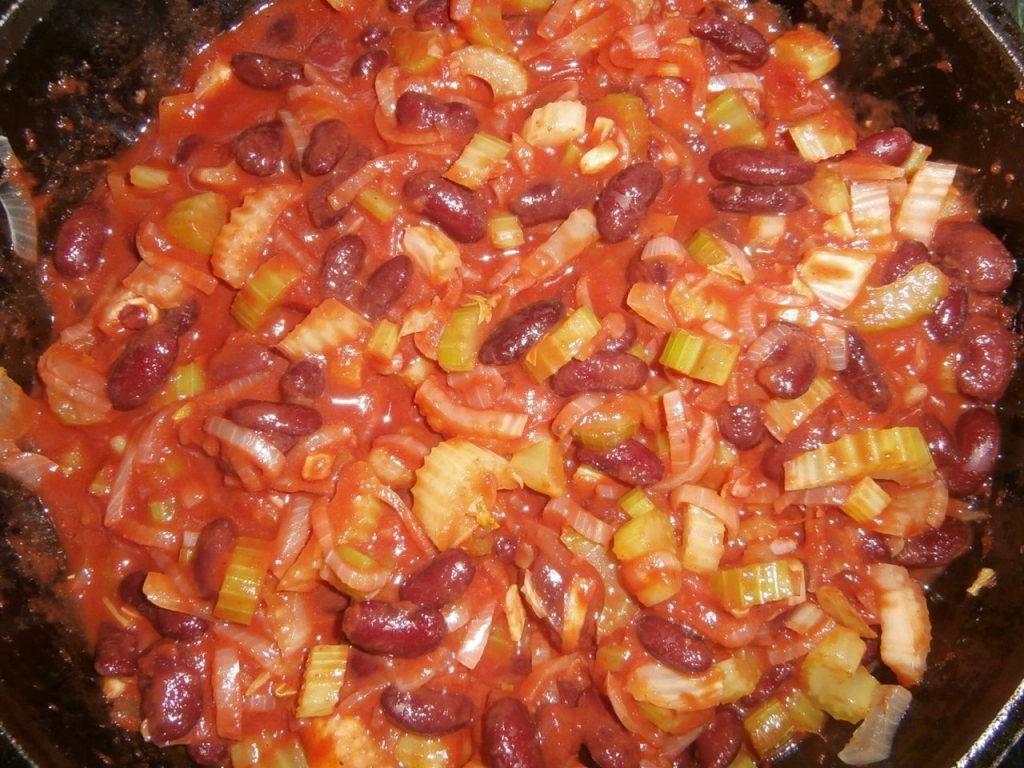 блюда из консервированной фасоли рецепты с фото