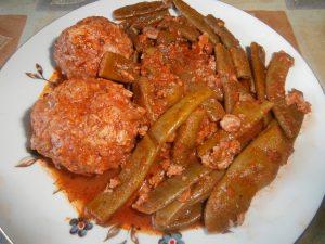 блюдо из стручковой фасоли
