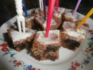 пирог с черносливом