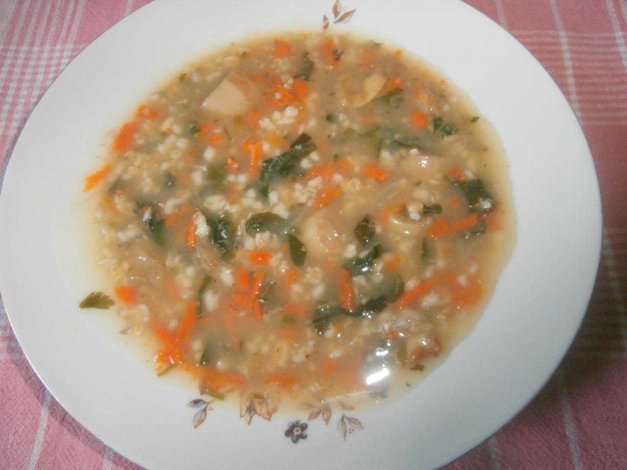 рецепты супа из грибов шитаки