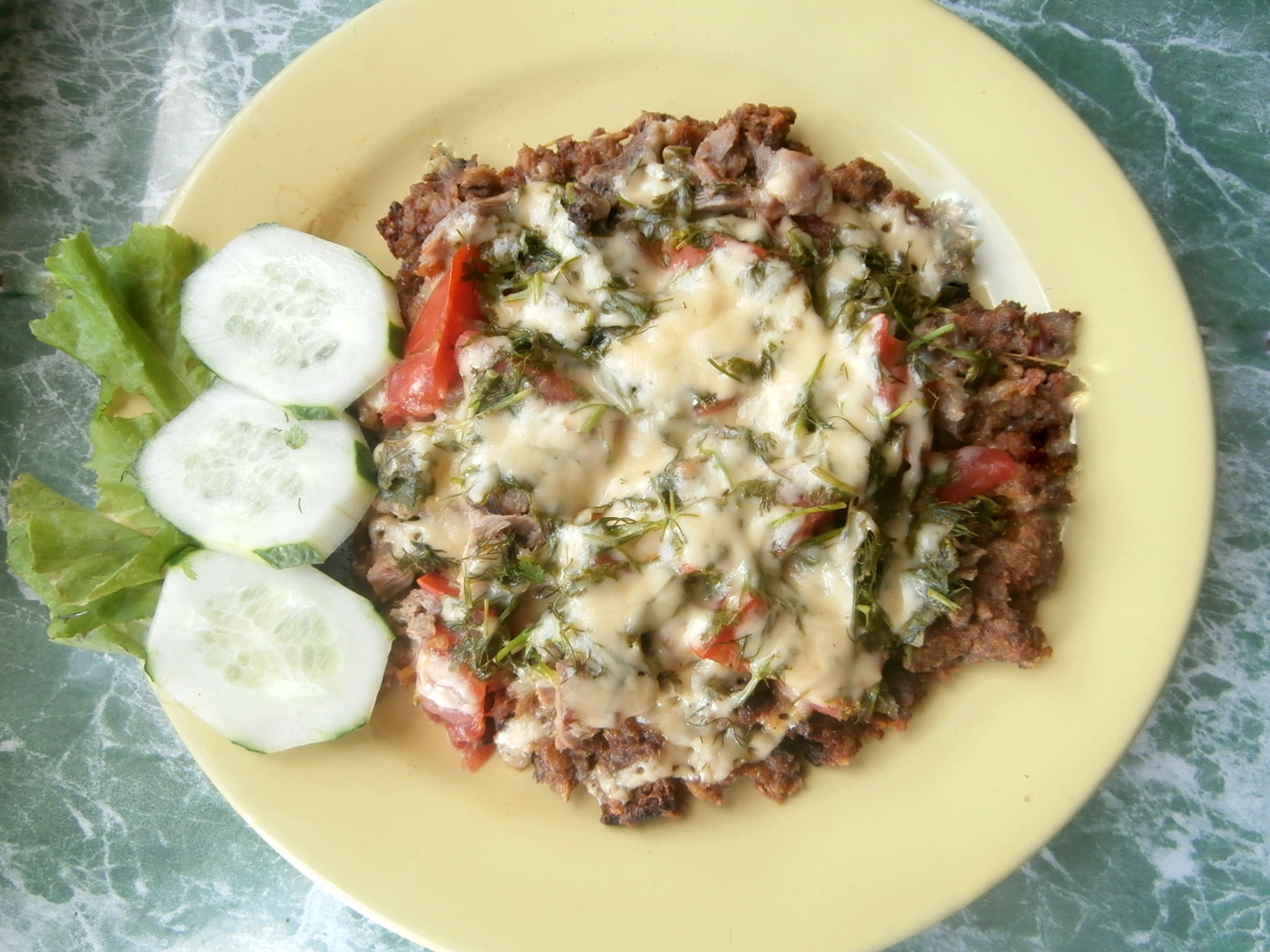 рецепт быстрой и вкусной пиццы