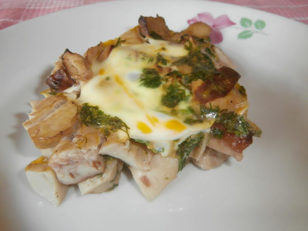 Пошаговое приготовление блюд из грибов