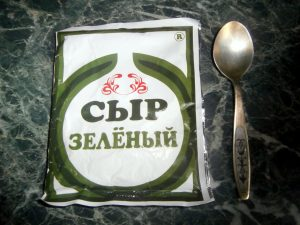 зеленый сыр