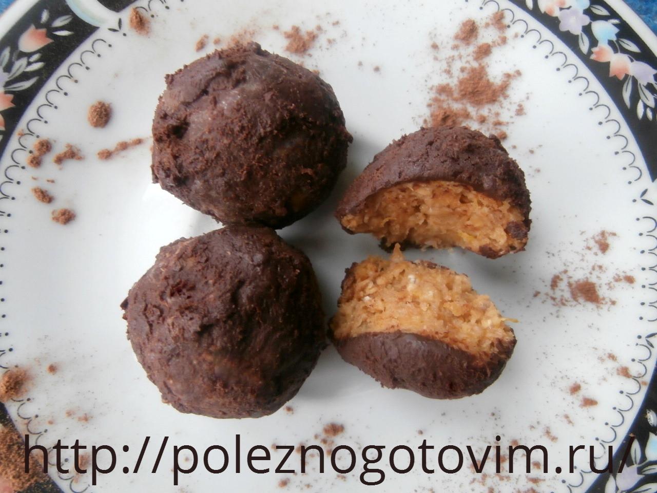 рецепты домашних конфеты из печенья