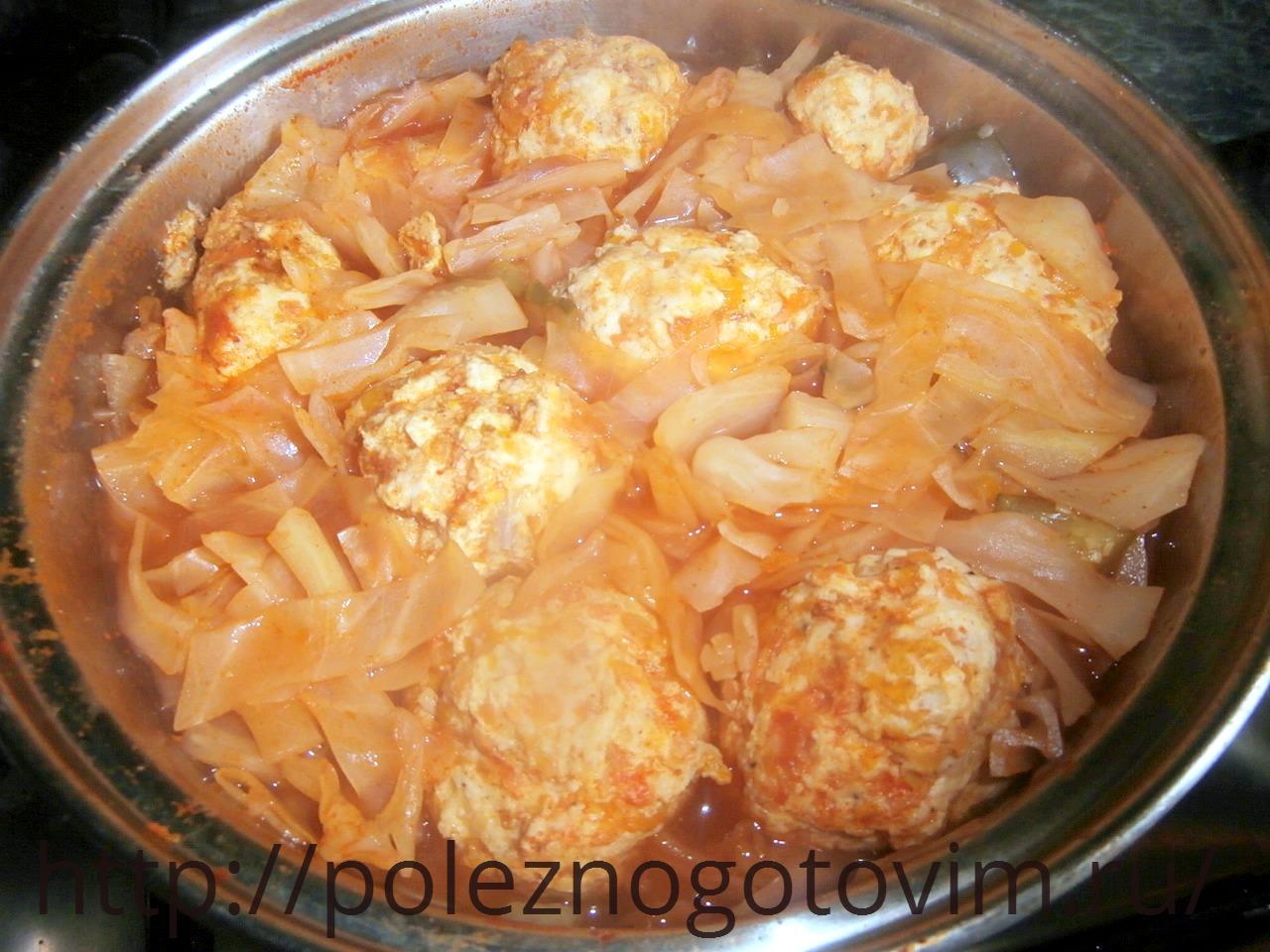 Диетические куриные тефтели рецепт пошагово в