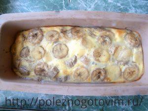 пирог с бананом