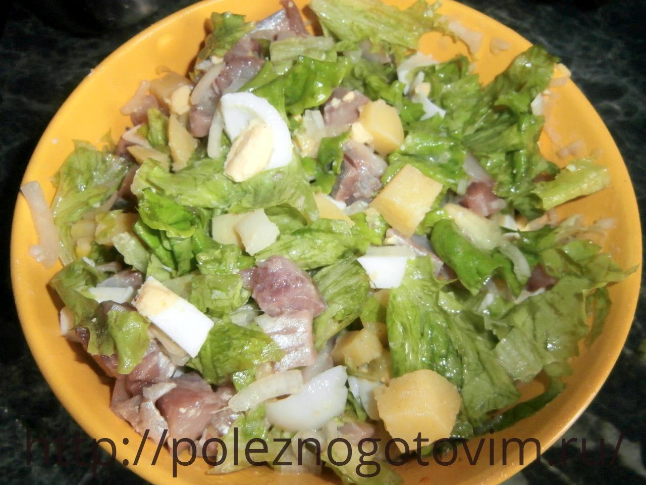 недорогие легкие салаты рецепты