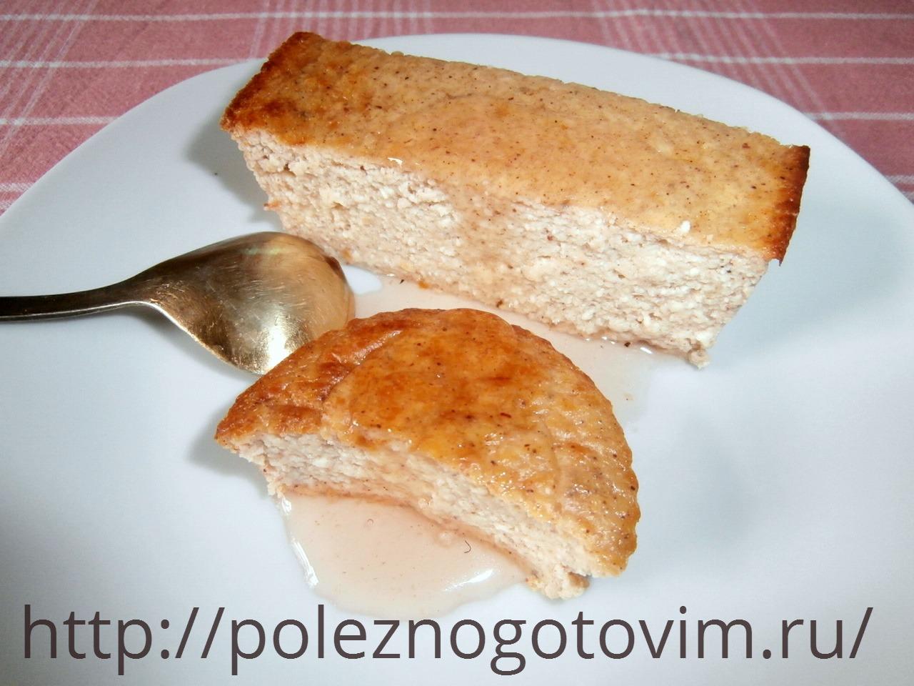 Запеканка из творожной массы рецепт в духовке без манки с мукой