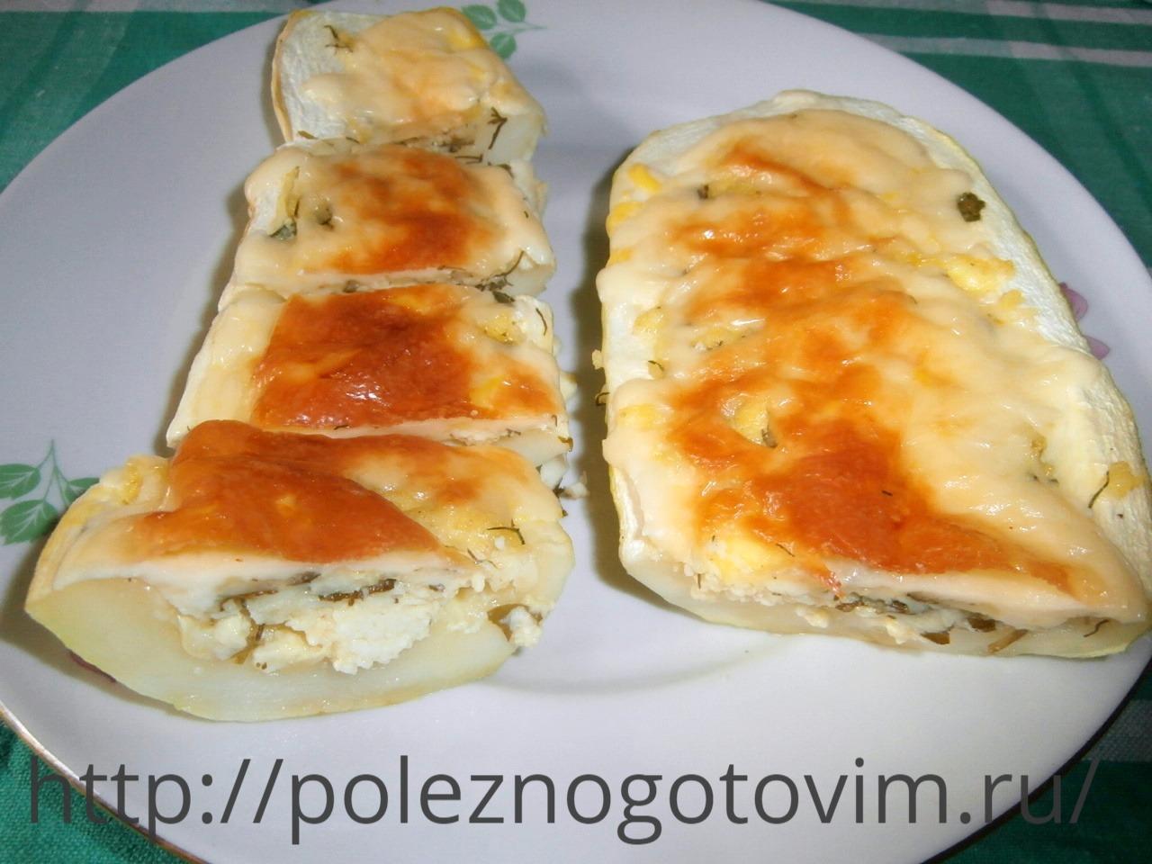 Кабачки с творогом рецепт пошагово в духовке