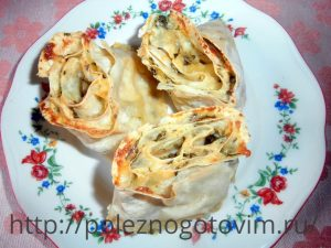 блюдо из лаваша