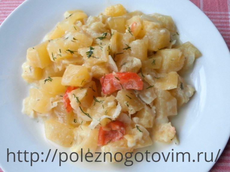 Тушеные кабачки с картошкой рецепт с фото
