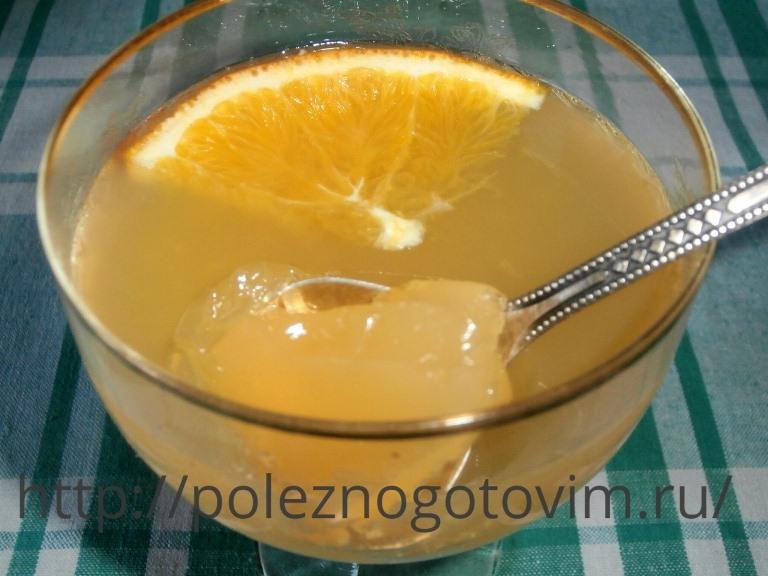 фруктовое желе диетический рецепт