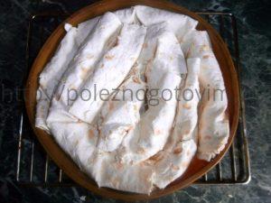 пирог улитка