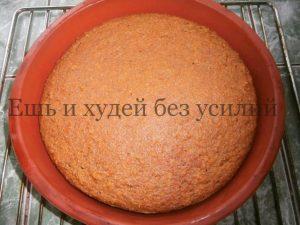 диетический торт из моркови