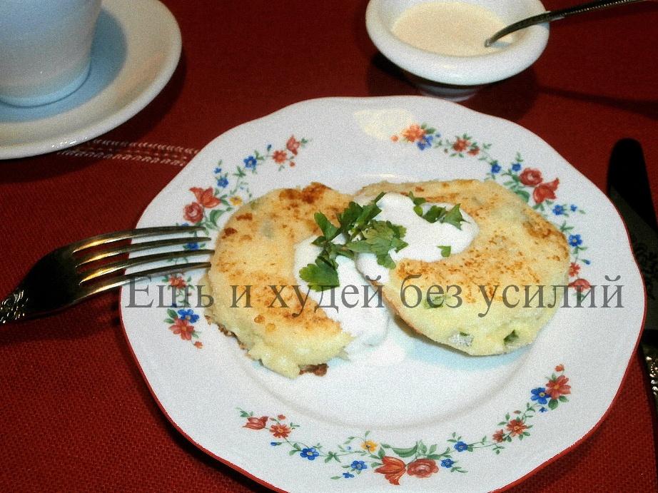 диетический рецепт сырники в с зеленью