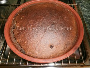 пирог с вареньем на кефире