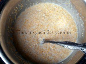 блюдо из кукурузной крупы