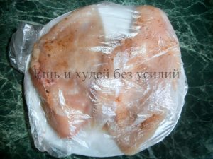 диетическое блюдо из куриной грудки