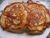 Миниатюра к статье Творожные оладьи с сыром в стиле «хачапури»