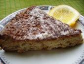Миниатюра к статье Шоколадный кекс из кабачка с творожной начинкой