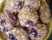 Миниатюра к статье Некалорийное печенье из овсяных хлопьев с вишней