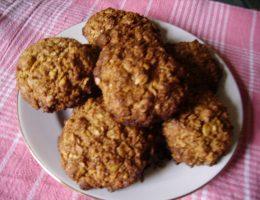 Миниатюра к статье Домашнее овсяное печенье