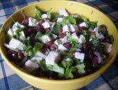 Миниатюра к статье Простой рецепт изысканного салата с фасолью и сыром