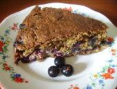 Миниатюра к статье Открытый пирог с ягодой или клафути