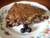 Миниатюра к статье Необычный пирог из творога и сухофруктов без сахара и муки