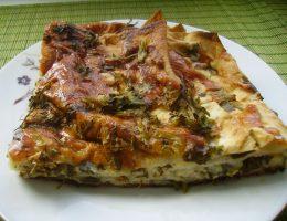 Миниатюра к статье Пирог из лаваша с сыром