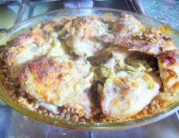 Миниатюра к статье Гречка с курицей в духовке
