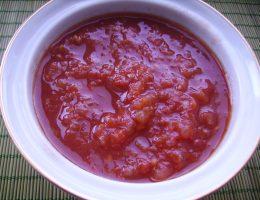 Миниатюра к статье Домашний кетчуп