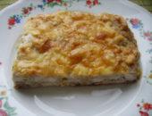 Миниатюра к статье Творожно-сырный пирог с зеленью