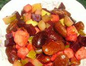 Миниатюра к статье Теплый салат из стручковой фасоли