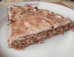 Миниатюра к статье Вкусный диетический торт с клубникой, творогом и овсянкой