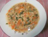 Миниатюра к статье Постный суп с грибами и овсянкой