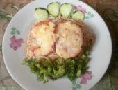 Миниатюра к статье Запеканка из макарон с помидорами и сыром