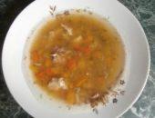 Миниатюра к статье Диетический суп с курицей и тыквой (или кабачками)