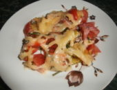Миниатюра к статье Теплый салат с курицей, перцем и стручковой фасолью