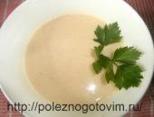 Миниатюра к статье Чесночно – сливочный суп-пюре