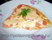 Миниатюра к статье Диетическая пицца без теста