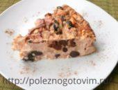 Миниатюра к статье Диетический пирог с яблоками без сахара