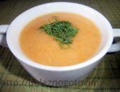 Миниатюра к статье Диетический суп-пюре с кабачками и цветной капустой