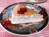 Миниатюра к статье Домашний зефир или воздушный белковый торт с ягодой