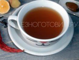 Миниатюра к статье Имбирный чай для похудения и иммунитета — вкусный и полезный напиток