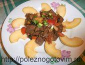 Миниатюра к статье Печеночный салат с маринованными огурцами