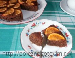 Миниатюра к статье Кофейный пирог с апельсином